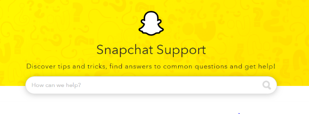 snapchat canada support