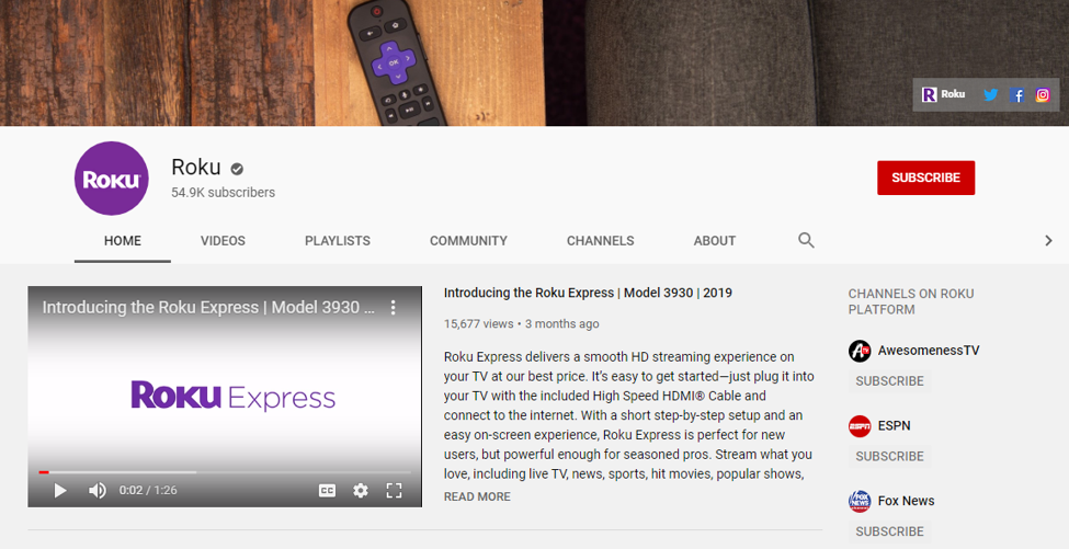 roku youtube guides and tutorials