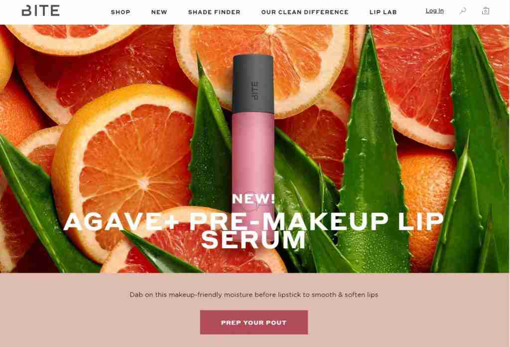 bite beauty website