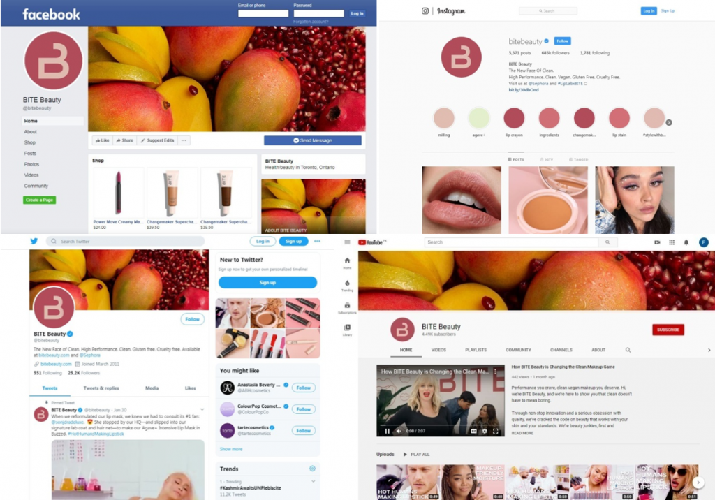 bite beauty social media support
