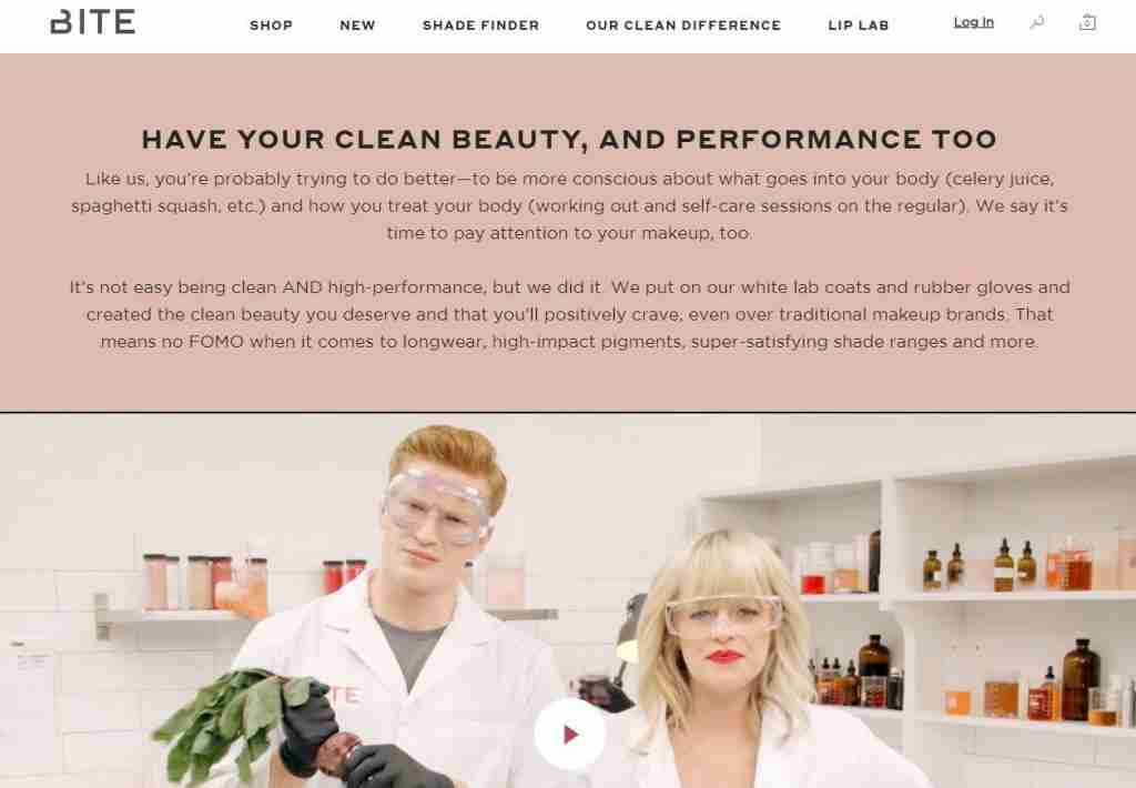 bite beauty clean difference