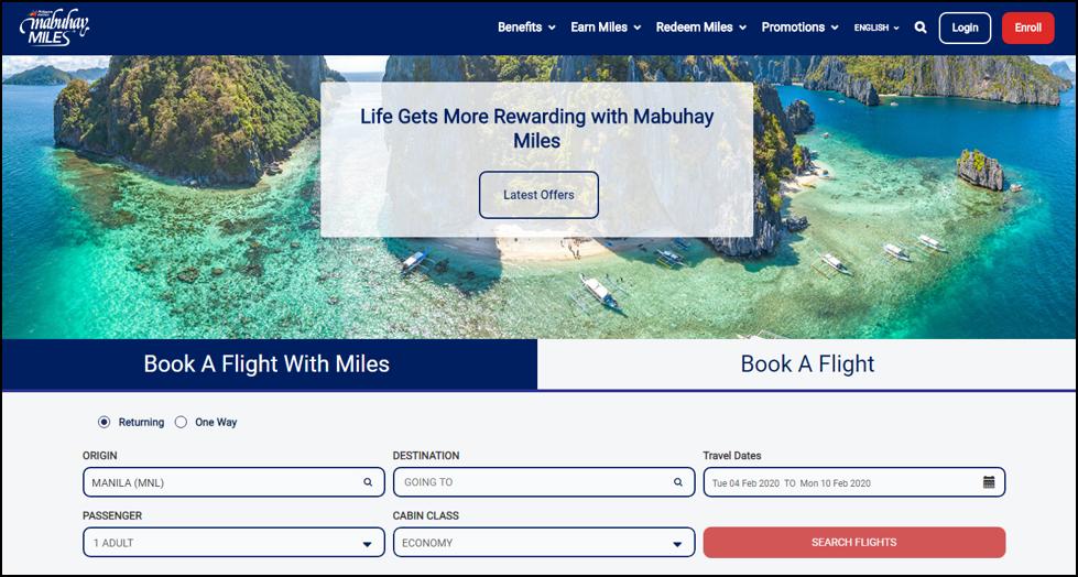 philippines airlines miles