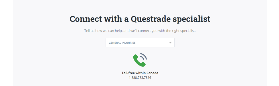 questrade hotline