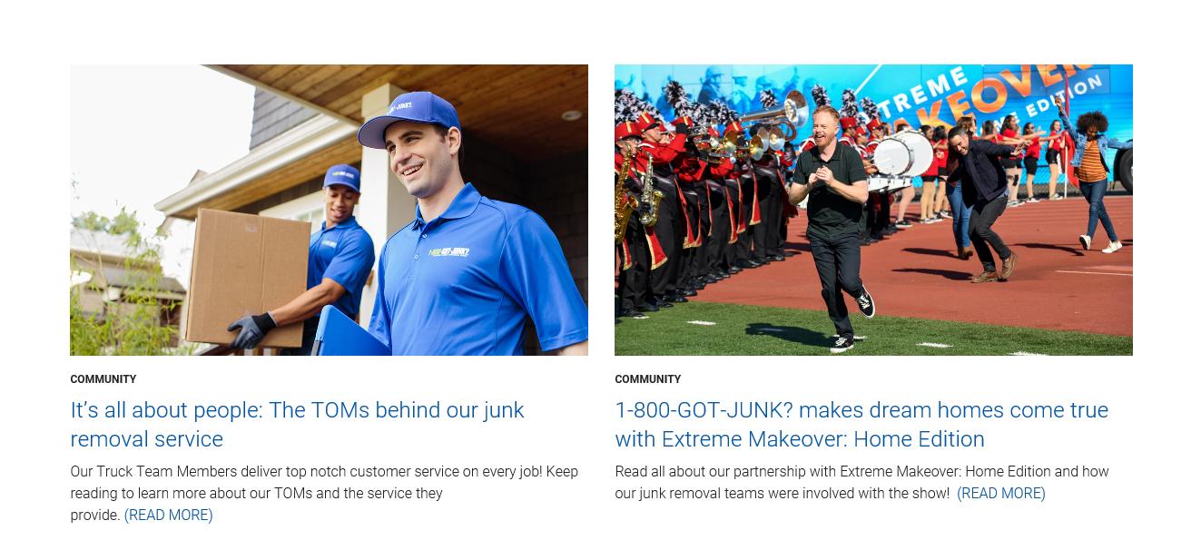 1-800-Got-Junk's? Blog