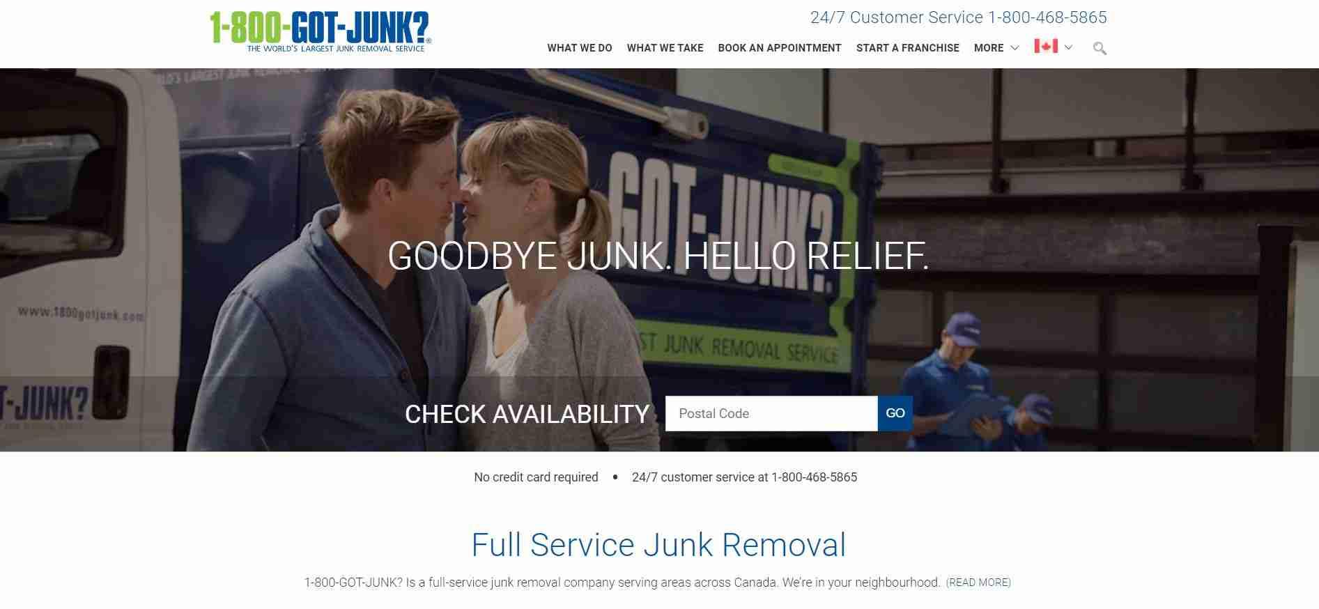1-800-Got-Junk's? Homepage