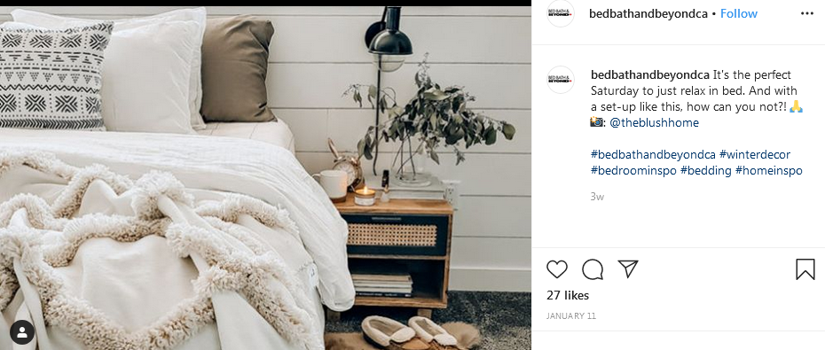 contact bed bath beyond on social media