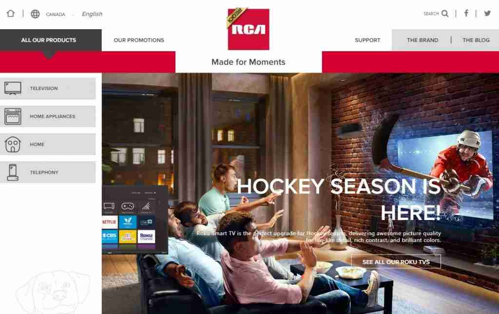 RCA support Canada