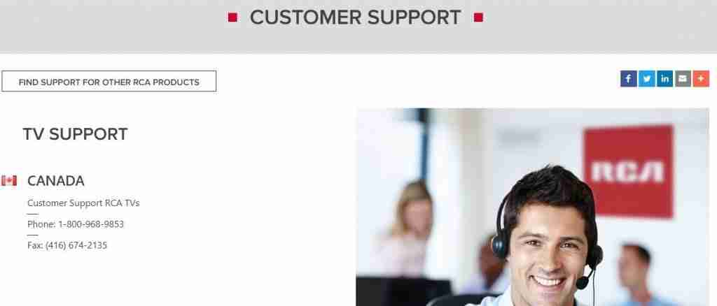 rca support
