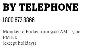 Saputo Canada telephone number