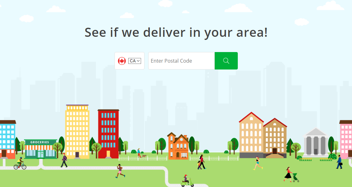 Instacart delivery locations