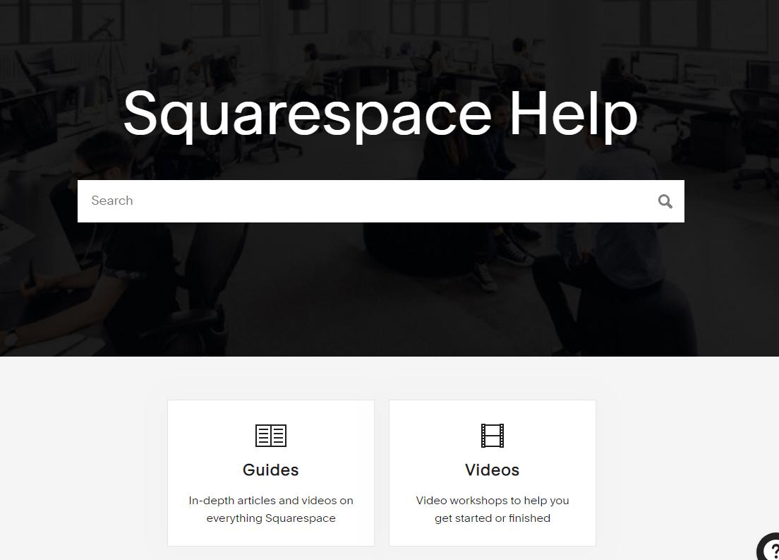 Squarespace-support-centre