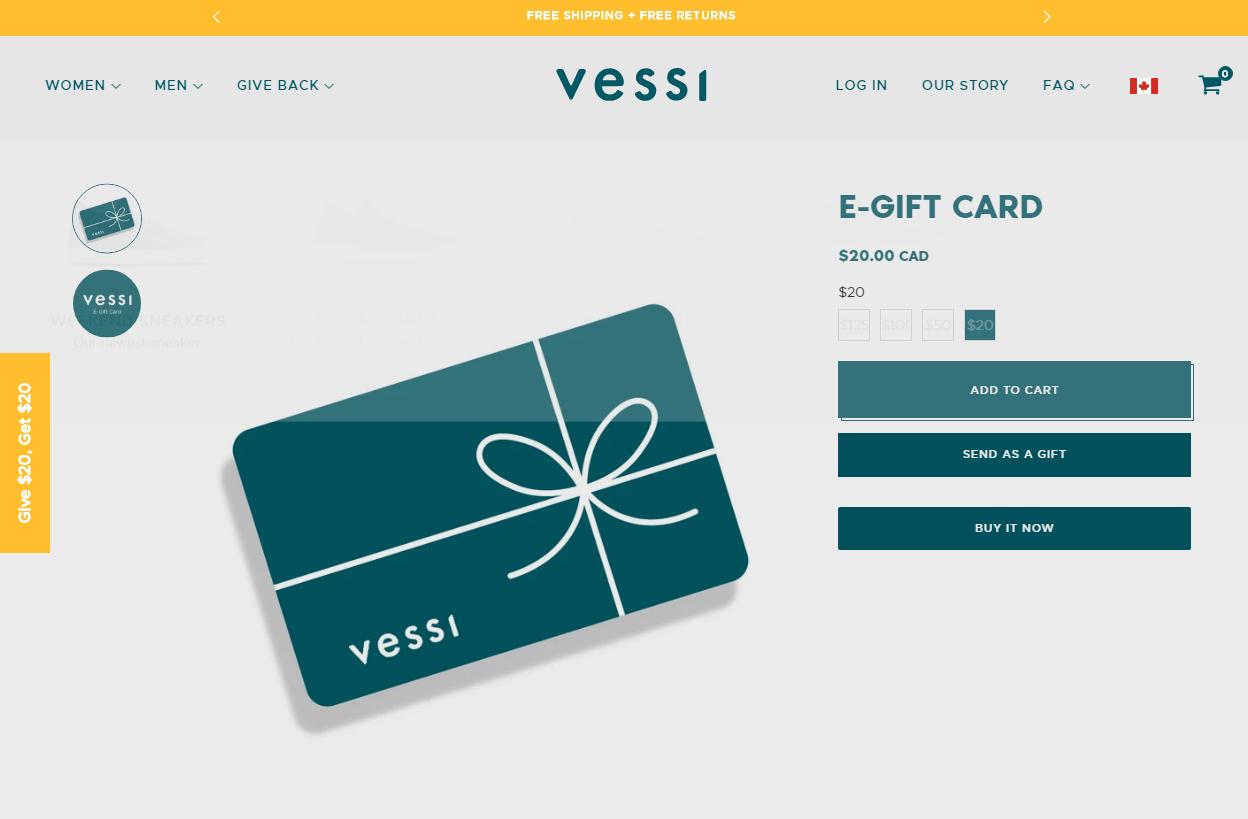 vessi-gift-card