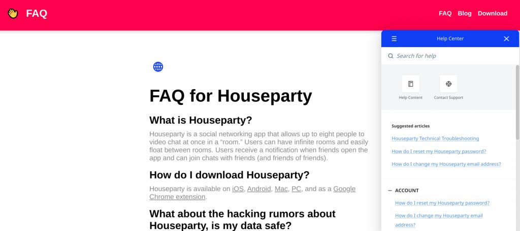 houseparty-help-center