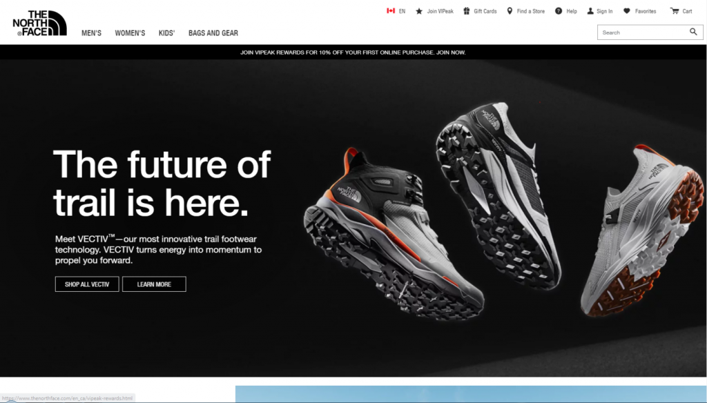 north-face--website-help