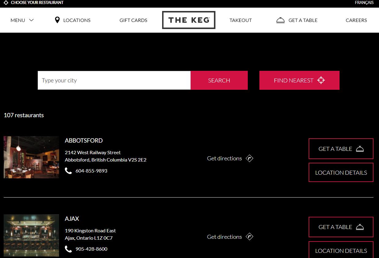 the-keg-locations