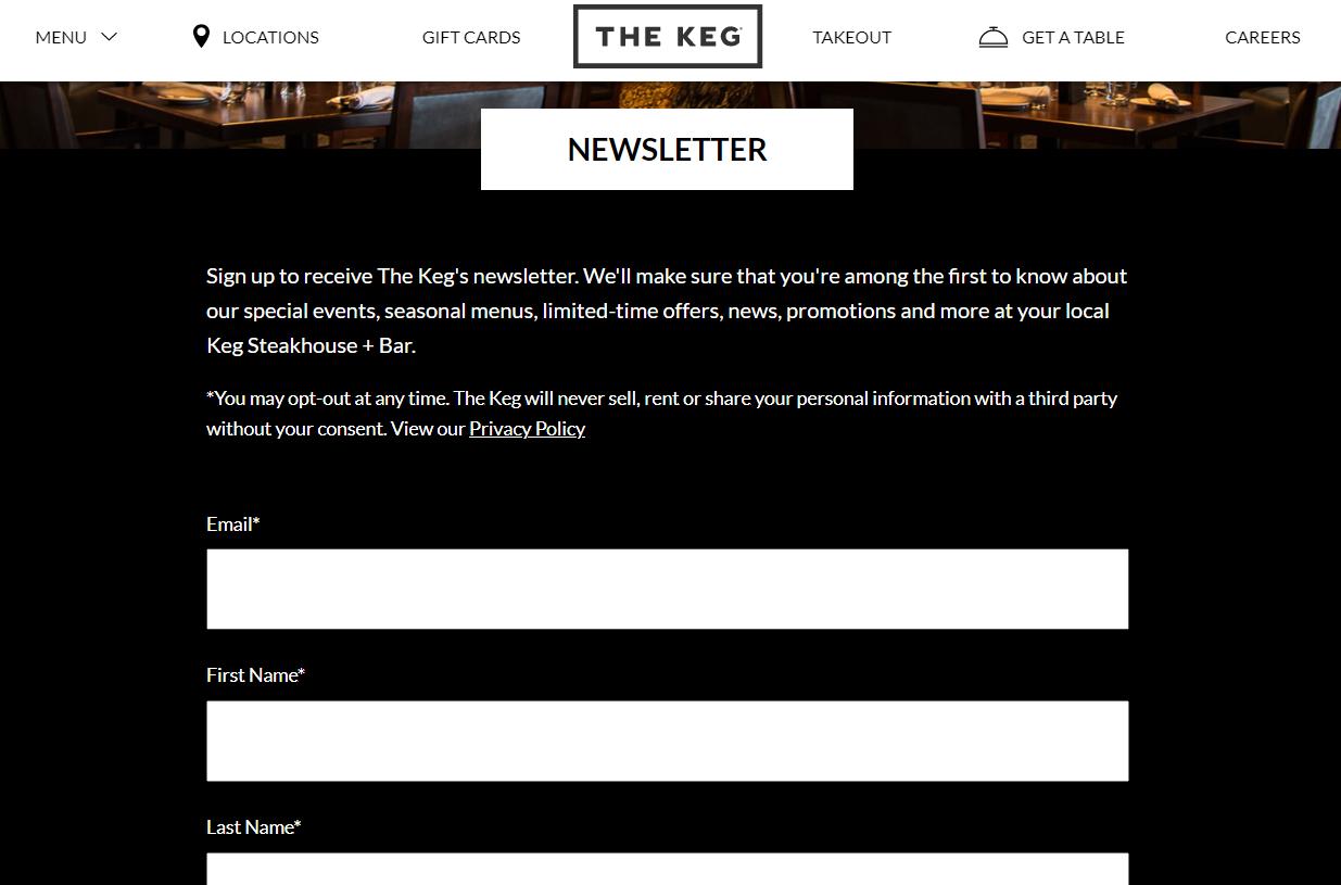 the-keg-newsletter